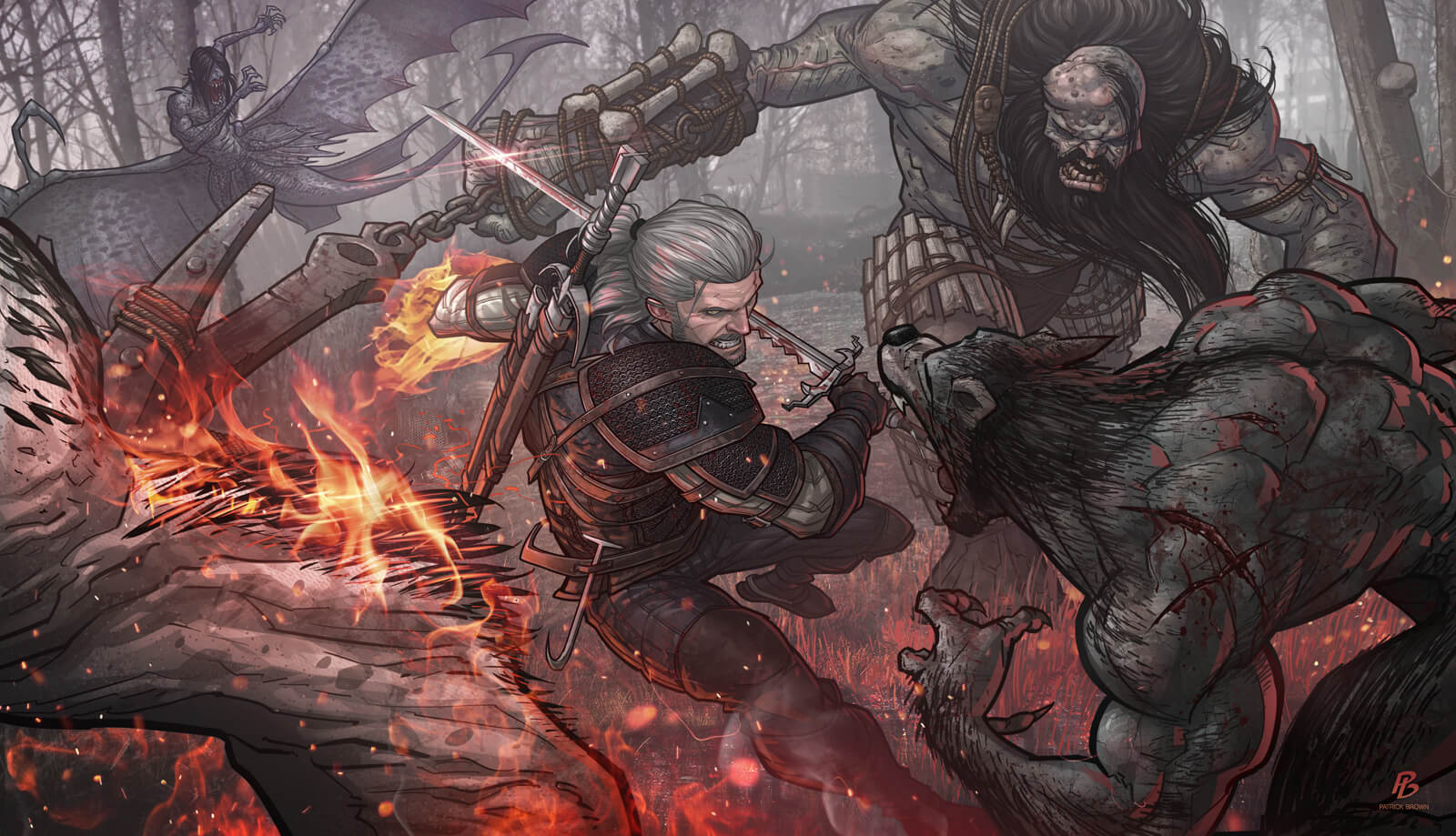 The Witcher Comics